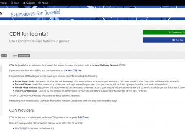 CDN for Joomla! Pro