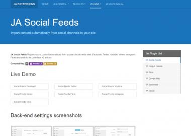 JA Social Feed