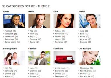 SJ K2 Categories