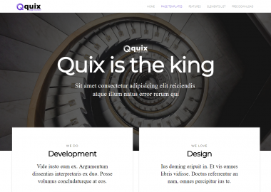Quix Pagebuilder