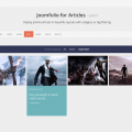 Joomfolio for Articles